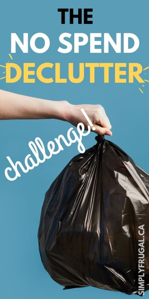 Introducing the 2 in 1 challenge that will bring peace to your home AND your finances! The No Spend Decluttering Challenge! Will you join us?