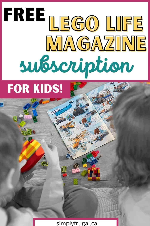 Lego life magazine subscription
