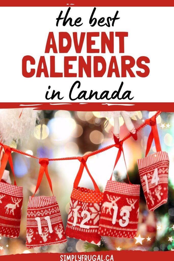 Advent Calendars in Canada
