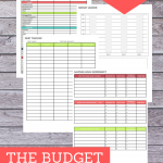 Is your spending spiraling out of control and bills piling up? Check out this Budget Binder Kit, created to help you get control of your household budget!