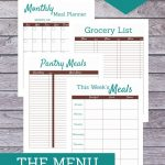 Menu planning is a tried-and-true method for sticking to a grocery budget, reducing meal-time stress and keeping pantry/fridge clutter at bay. The various meal planners, trackers, and shopping lists in this printable kit will provide you with countless options and flexibility for planning and streamlining your family's meal planning, preparation, and grocery shopping processes.