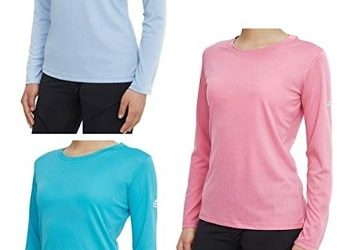 Women's 3-Pack Quick Dry Long Sleeve Shirts Deal